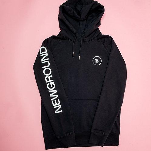 NEW black hood