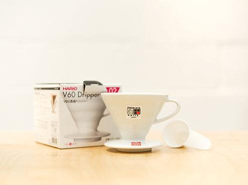 Ceramic Hario V60 - White 02