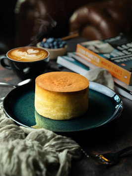 japanese cakes and latte