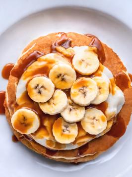 the best banana pancake