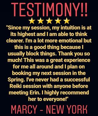 Reiki Testimony