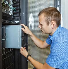 Internet router installation