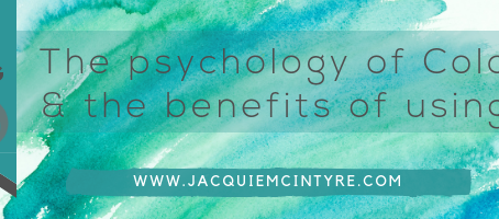 The psychology of colour & the benefits of using it.