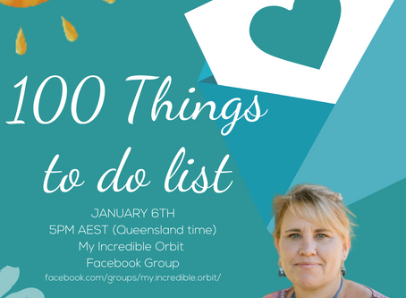 Day five- Get yourself a WORD & Let's build a 100 Things to do list.