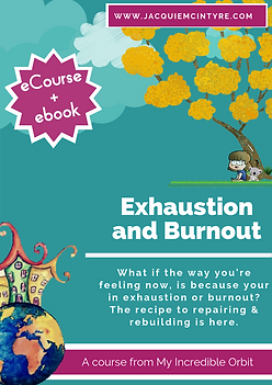 Exhaustion and Burnout video series. Jacquie McIntyre