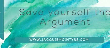 Save yourself the argument- Why do we have the conversations that go nowhere.