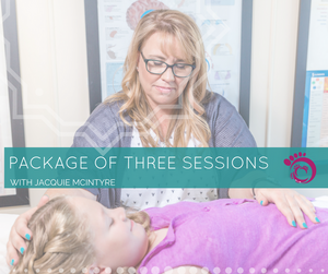 Prepaid package of three sessions with Jacquie McIntyre