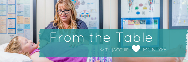 From the Table with Jacquie McIntyre