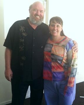 Jacquie McIntyre and John Veltheim