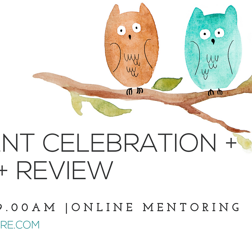 Student celebration + Q & A + Review