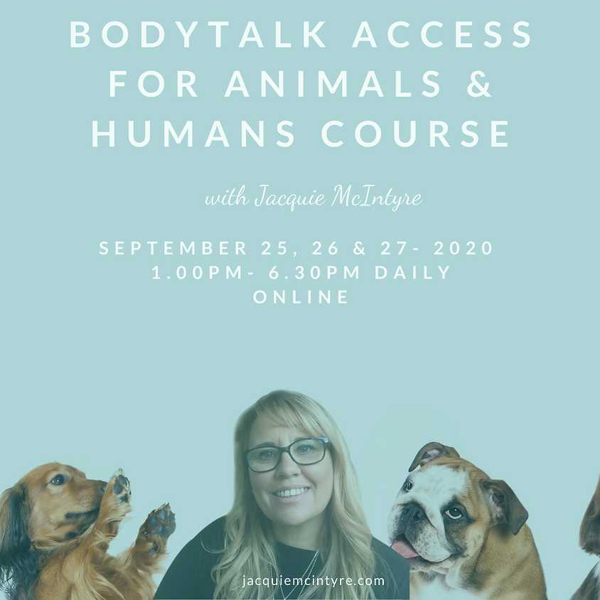 BodyTalk Access for Animals & Humans