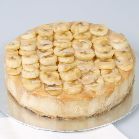 Banana Toffee Cheesecake