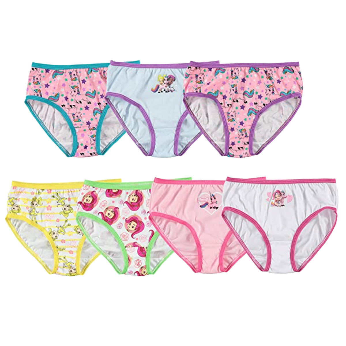 Rainbow Rangers Girls Panty Multipack