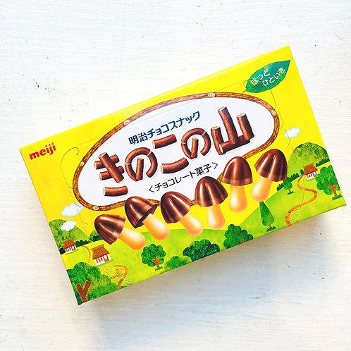 Meiji きのこの山 Kinoko no Yama Chocolate snack