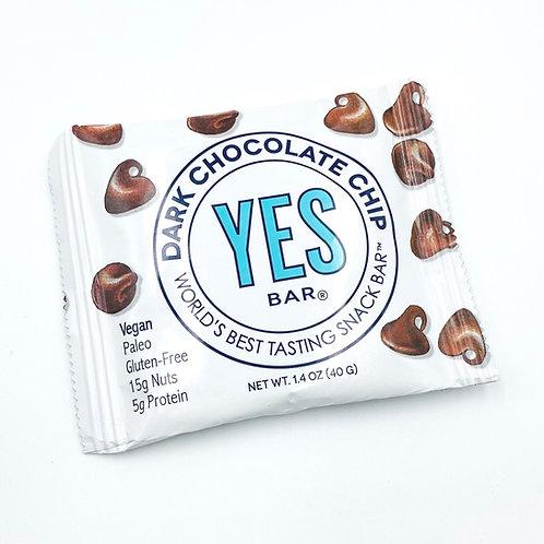 Dark chocolate chip Yes Bar World's Best Tasting Snack Bar