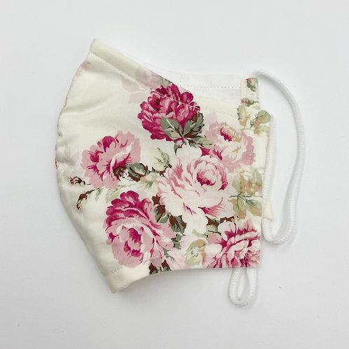 Reusable Rose Milk Double Layered  Cotton Face Mask