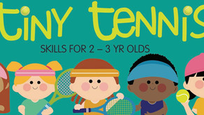REGISTER NOW FOR TINY TENNIS!