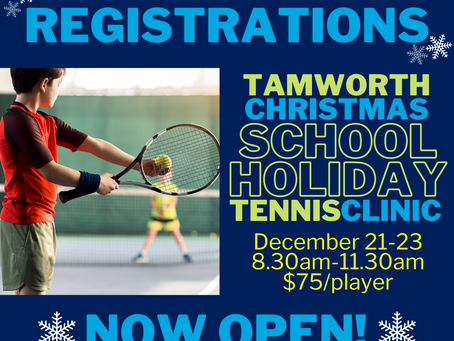 Christmas School Holiday Clinic