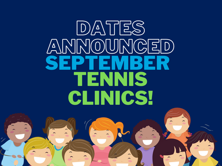 September School Holiday Clinics!