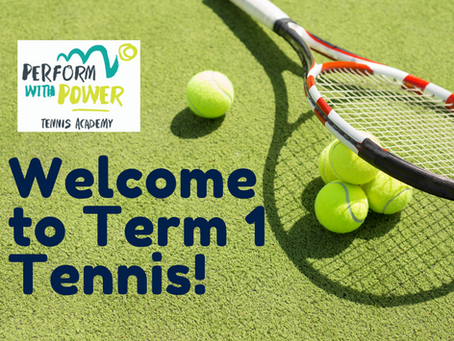 Welcome to Term 1 tennis!