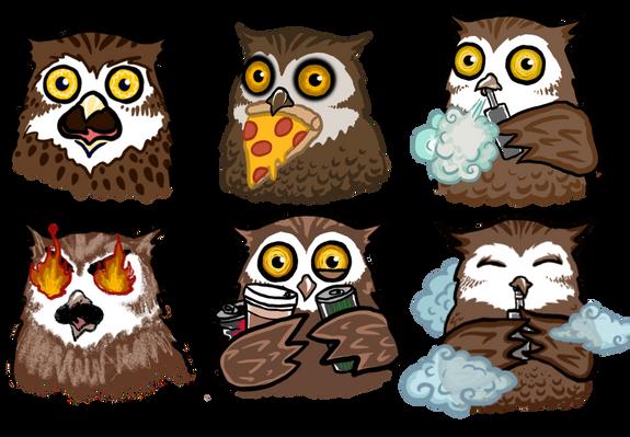 Owl Reactions