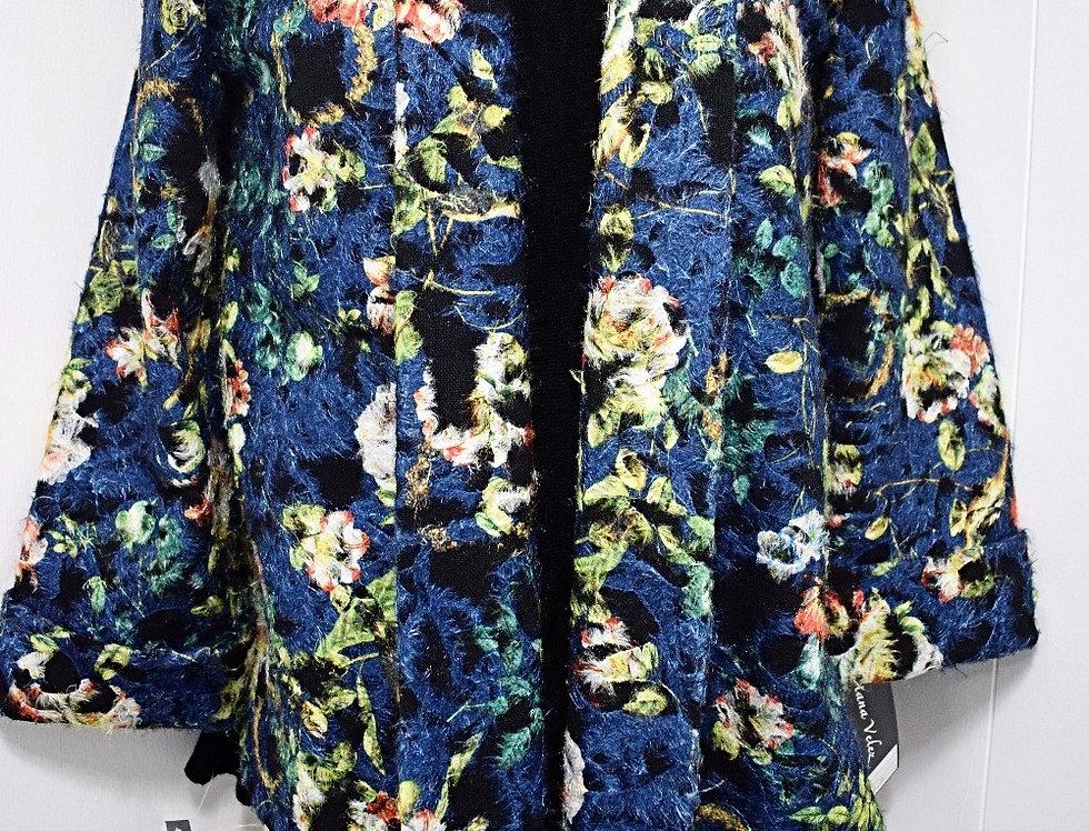 Blue Flowers Jacket