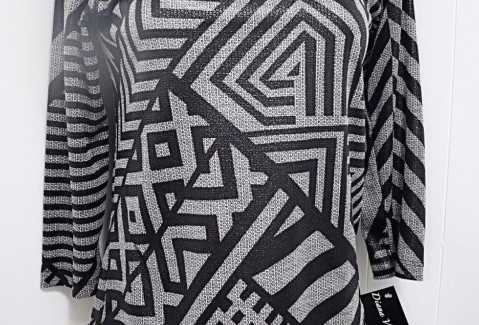 Black&Gray blouse