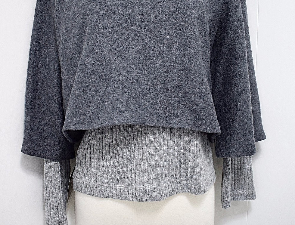 Gray Short Jacket
