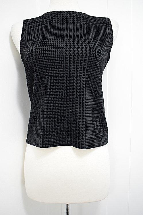 Short Black Shirt