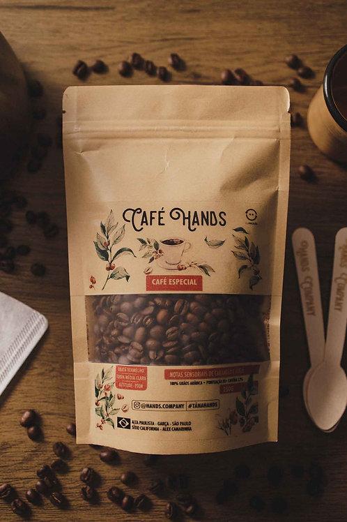 Café Hands  100%  Grãos Arábica