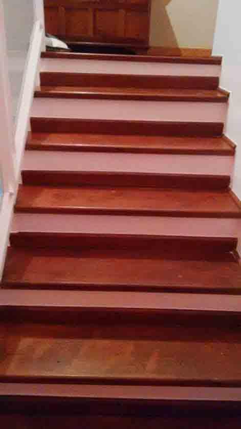Escada de Jatobá