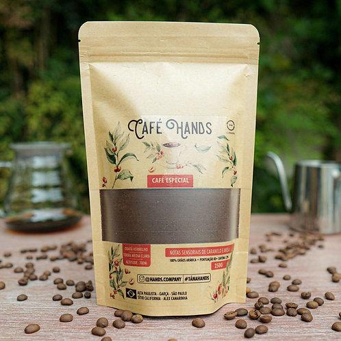 Café Hands Cacau - 100% Arábica - moído