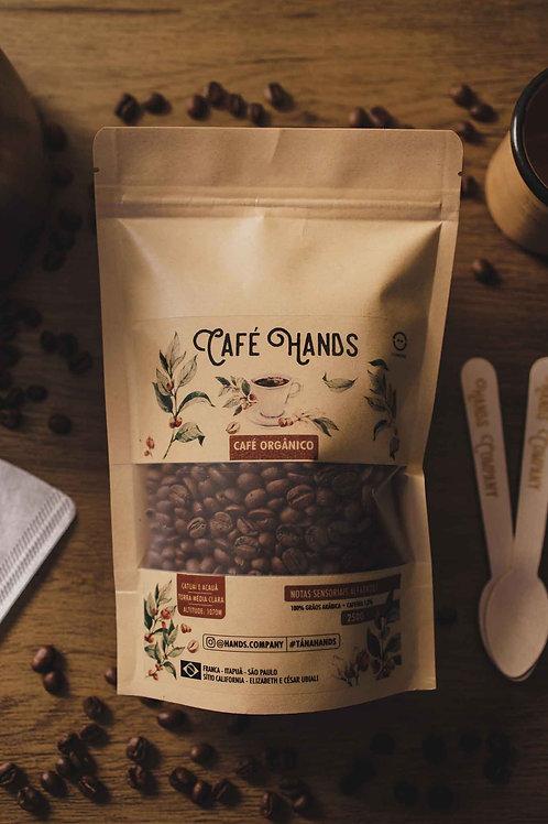 Café Hands Orgânico 100%  Grãos Arábica