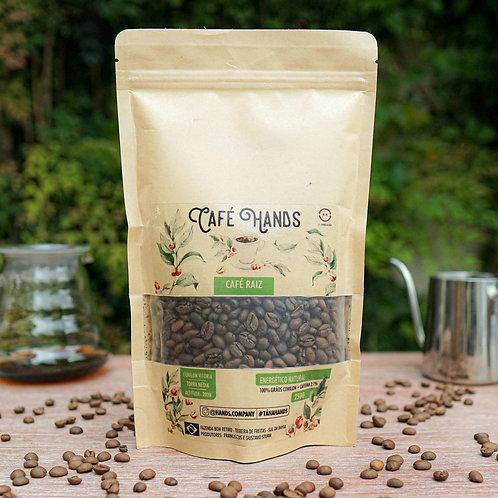 Café Hands Raiz 100%  Grãos Canephora