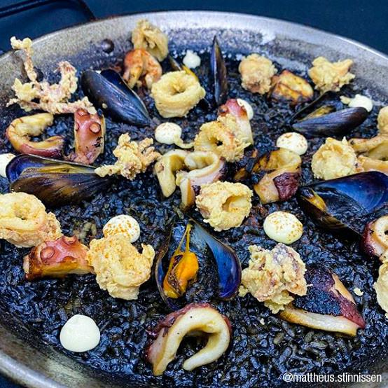 ARROZ NEGRO 'SEAFOOD BLACK RICE'
