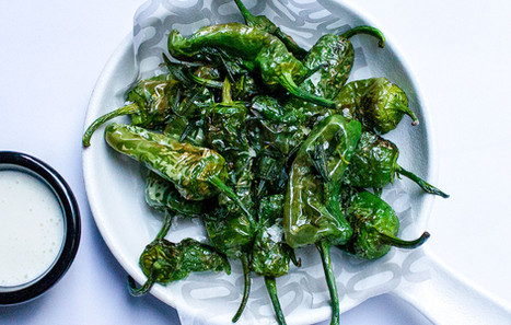 FRIED PADRÓN SWEET CHILLI PEPPERS