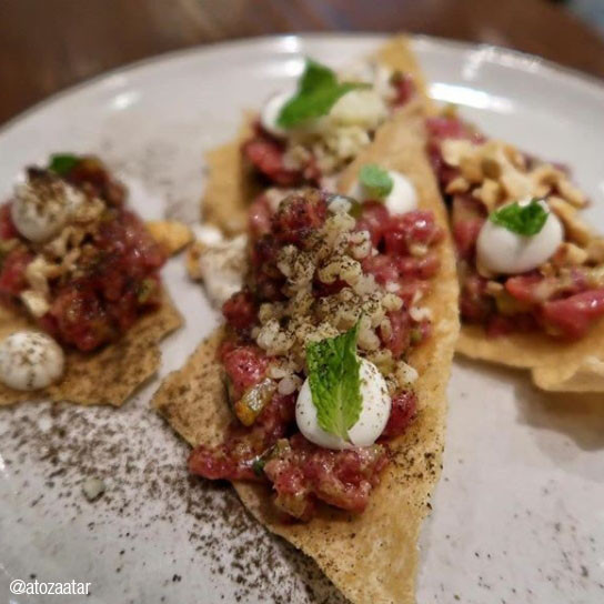 MIDDLE EASTERN BEEF TARTARE