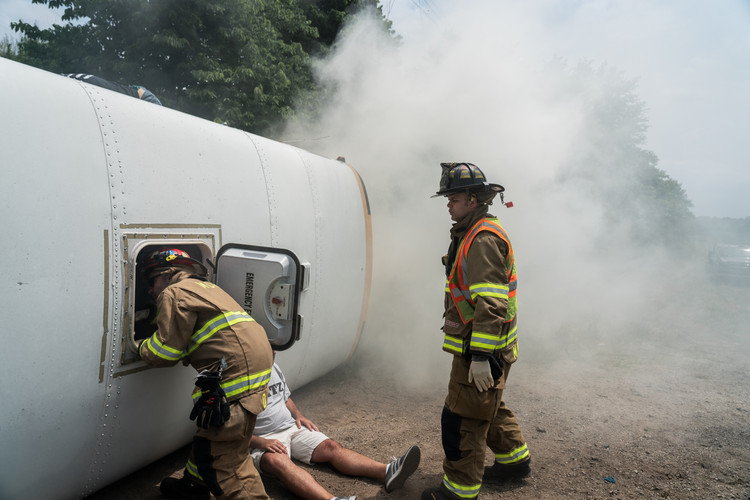 Bus Mass Casualty Training