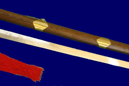 Стандартен Тайдзи прав меч от неръждаема стомана