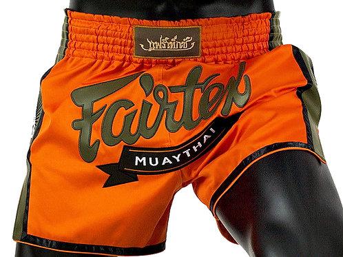 Fairtex Муай Тай - тай шорти Orange Satin