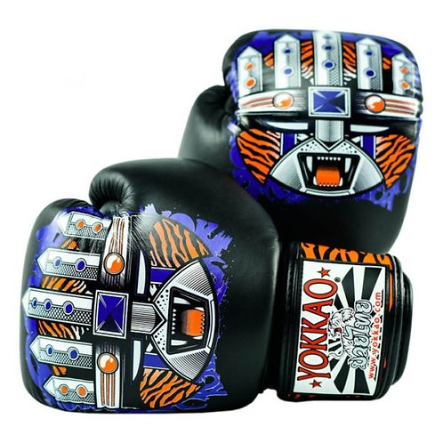РЪКАВИЦИ YOKKAO APEX TIGER MUAY THAI