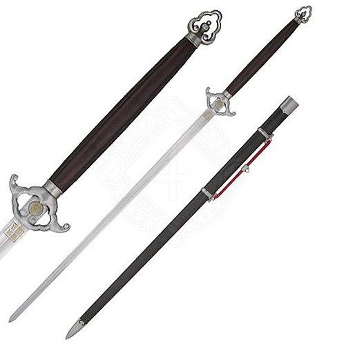 Двурък Джиан Хсу прав китайски меч