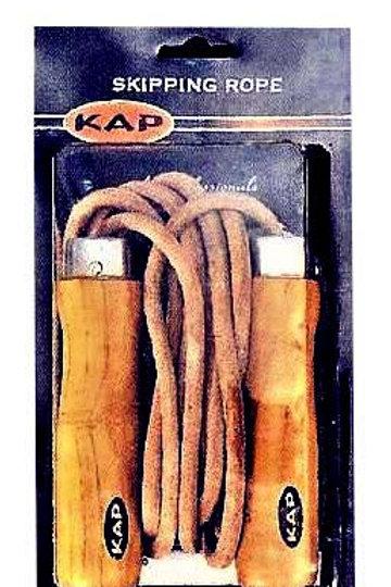 Бързо кожено въже за скачане с лагери KAP Модел 3389