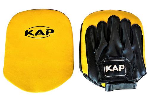Лапи модел на KAP кожа жълти