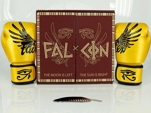 Кожени ръкавици на Fairtex / Стегната кройка - Falcon