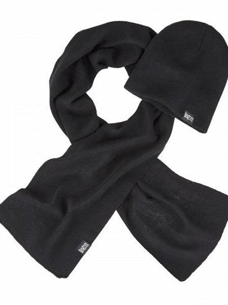 Плетен комплект от шал и шапк Ben Lee Longley