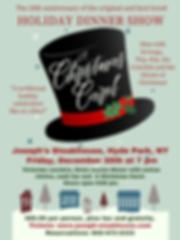 Josephs Christmas Carol poster 2019-1.pn