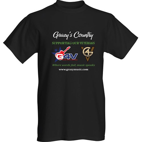 T Shirt  G4V Supporting Our Veterans
