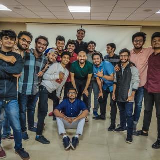 Jain University workshop