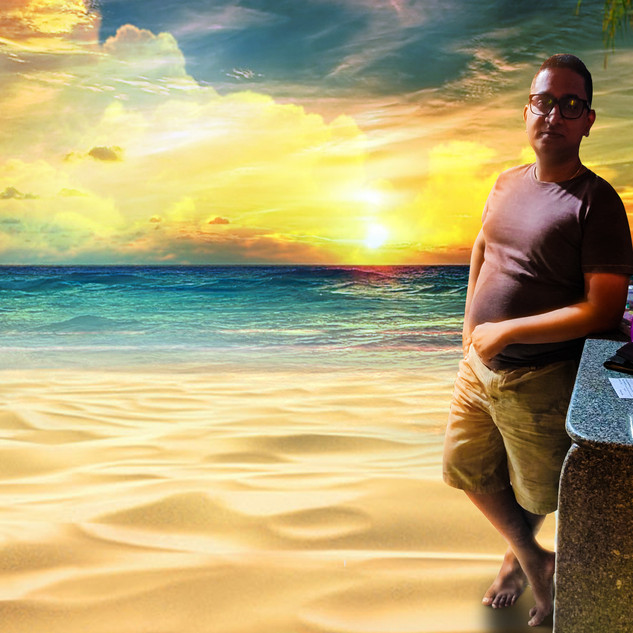 Rudra at the Beach